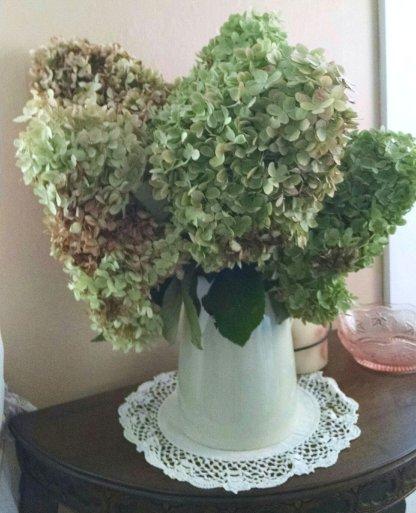 Autumn hydrangea love   Vintage Floral Cottage