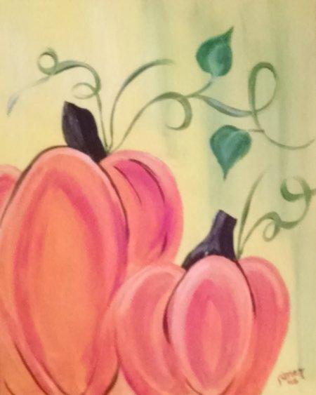Pumpkin painting | VFC Style