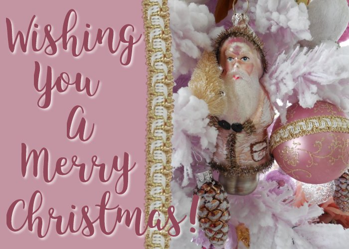 Merry Christmas! | Vintage Floral Cottage