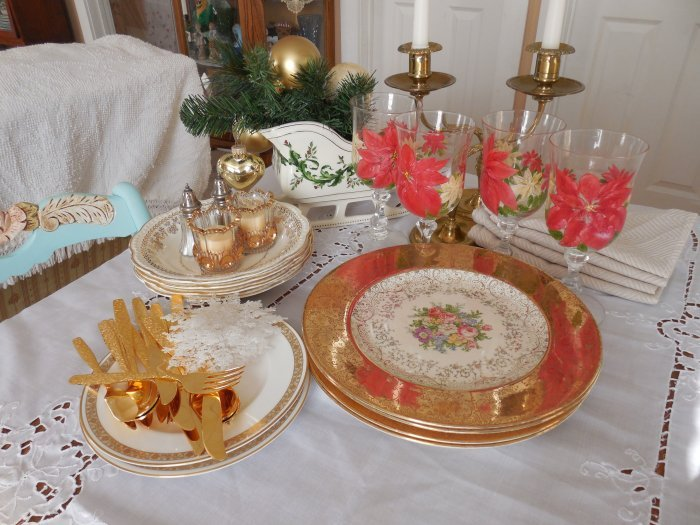 Golden put away shot | Vintage Floral Cottage
