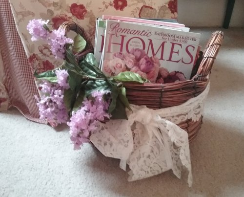 Silk lilacs | Vintage Floral Cottage