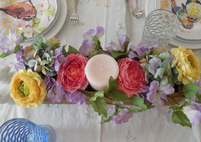 Centerpiece | Vintage Floral Cottage
