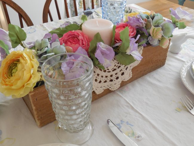 Glassware | Vintage Floral Cottage