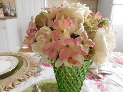 Silk Hydrangeas | Vintage Floral Cottage