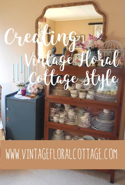 Pin It! Creating VFC Style | Vintage Floral Cottage