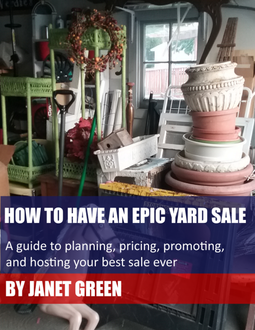 How to Have an Epic Yard Sale E-book | Vintage Floral Cottage