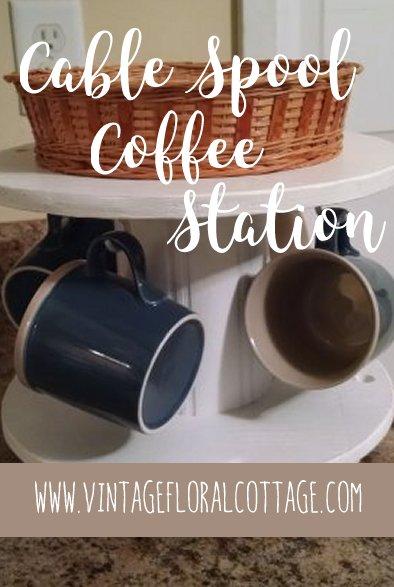 Coffee station DIY | Vintage Floral Cottage