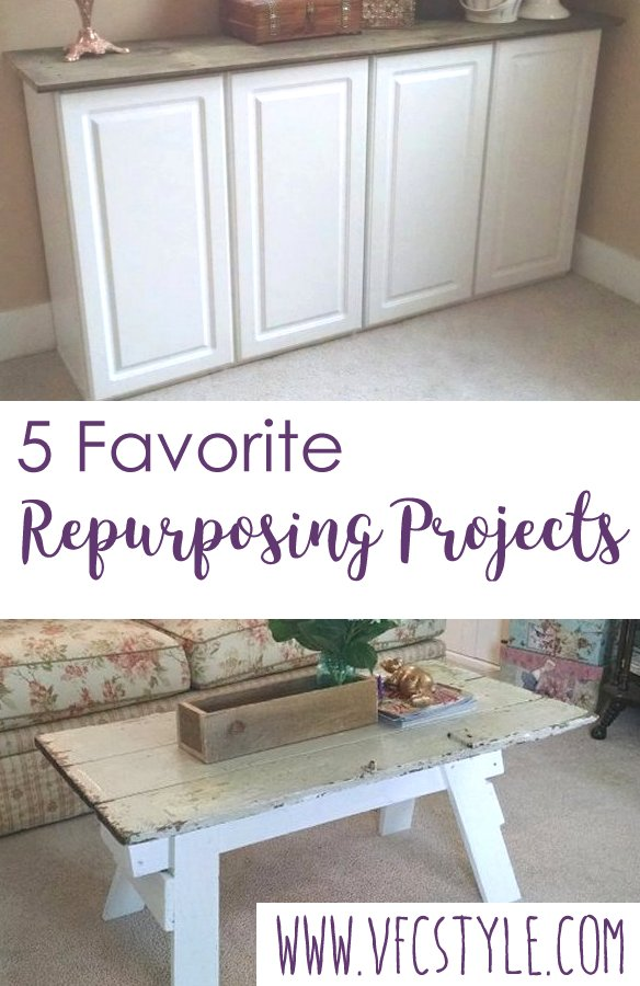 Five favorite repurposing projects | Vintage Floral Cottage