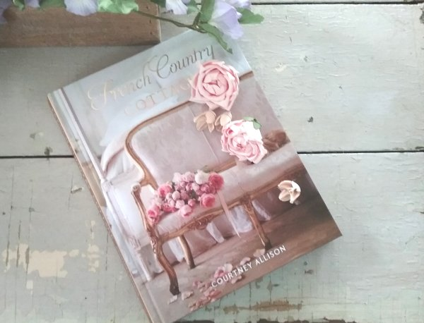 French Country Cottage book by Courtney Allison, author of the French Country Cottage blog and editor of Romantic Homes magazine. #frenchcountrycottage #frenchcountry #frenchhomedecor #courtneyallison