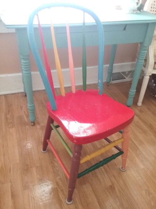 Farmhouse dining chair | Vintage Floral Cottage