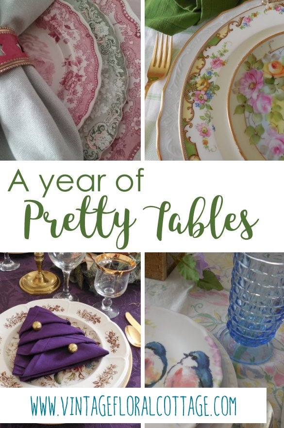 A Year of Pretty Tables | Vintage Floral Cottage