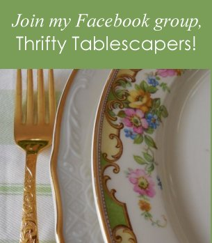 Facebook Group Thrifty Tablescapers | Vintage Floral Cottage