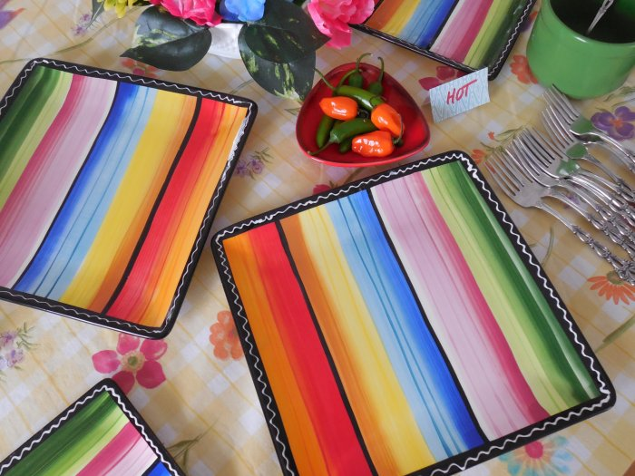 Margarita day tablescape | Vintage Floral Cottage