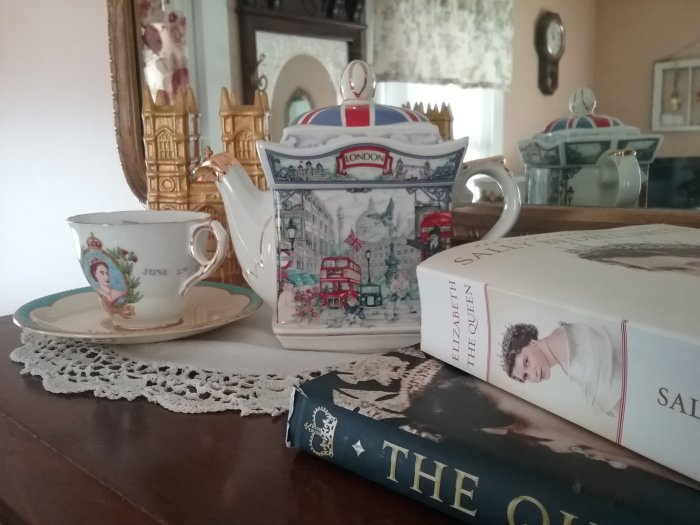 Homage to Queen Elizabeth II | Vintage Floral Cottage