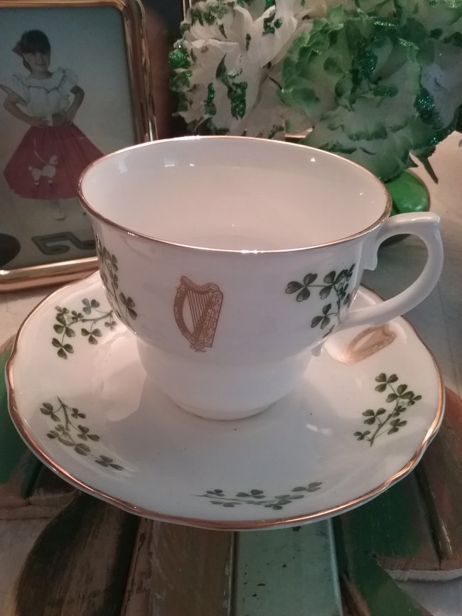 Irish Tea Table | Vintage Floral Cottage