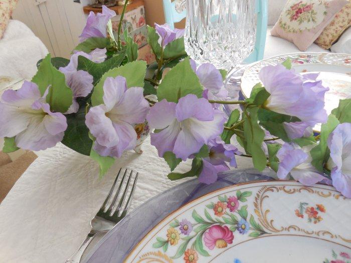 Dresden Schumann Empress Flowers | Vintage Floral Cottage
