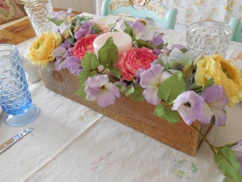 Silk flowers | Vintage Floral Cottage