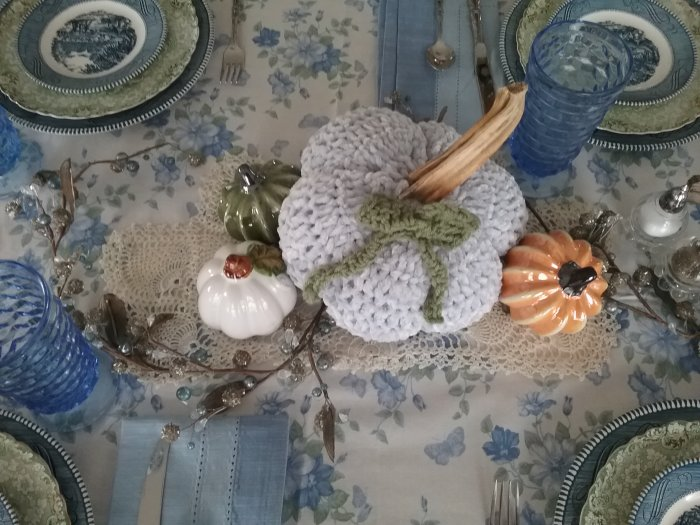 Thanksgivingtable2019 | Vintage Floral Cottage