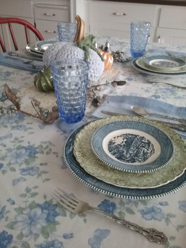 Thanksgivingtable2019 | Vintage Floral Cottage