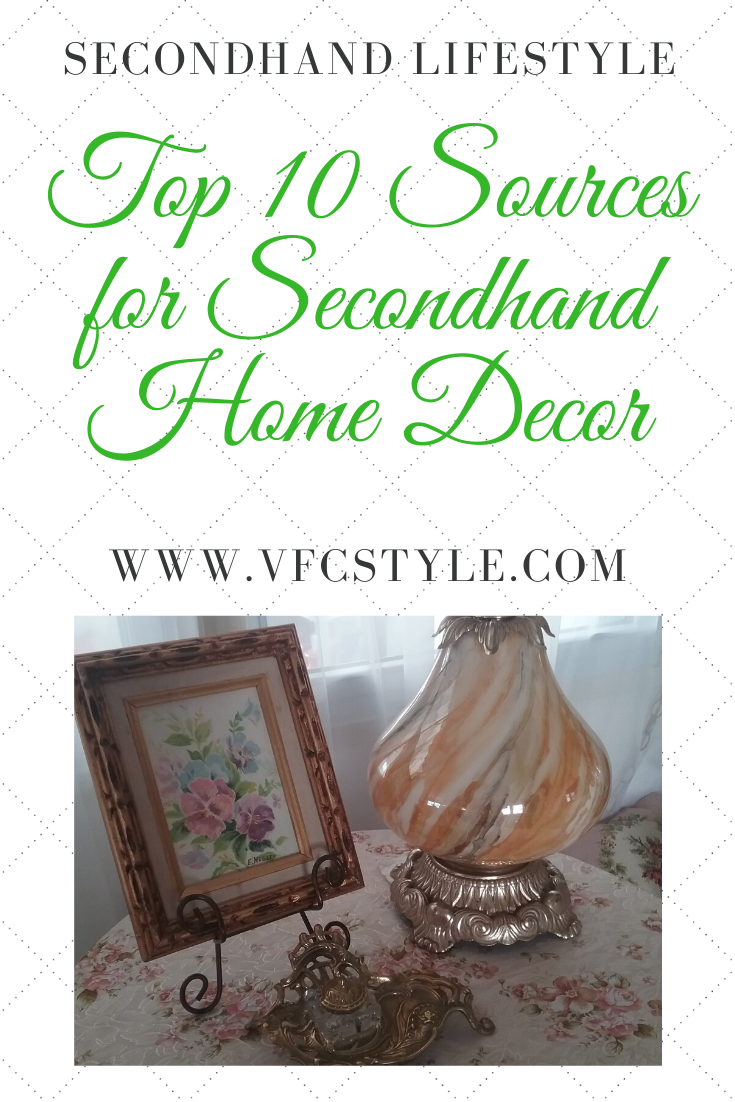 Top 10 Sources for Secondhand Home Decor | Vintage Floral Cottage