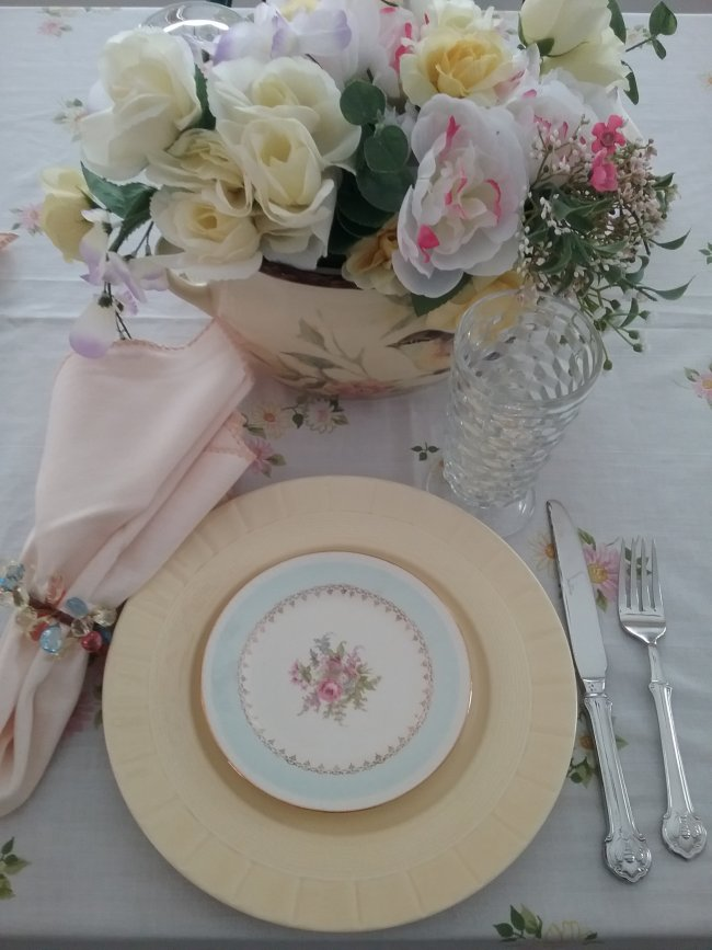 January Ladies Luncheon | Vintage Floral Cottage
